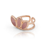 Floral Escape Pink Opal Ring
