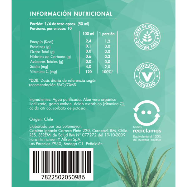 Aloe Gel Puro - Brota Vida