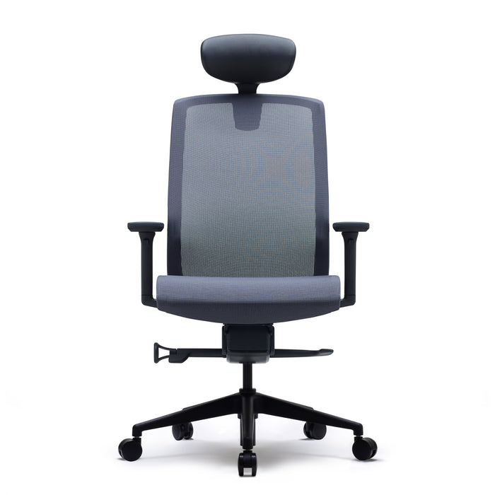 J15 High Back Mesh Task Chair with Headrest