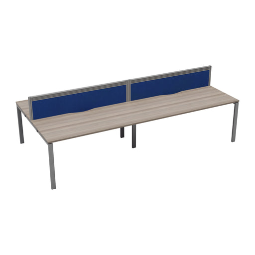 LOCO 4 person bench desk 2400mm x 1600mm