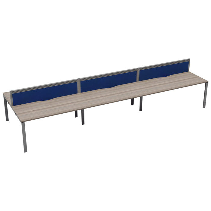 LOCO 6 person bench desk 3600mm x 1600mm