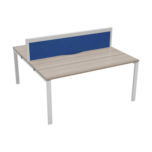 LOCO 2 person bench desk 1200mm x 1600mm - Next Day Delivery