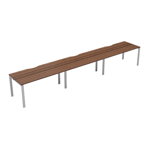 LOCO 3 person single bench desk 3600mm x 800mm
