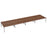 LOCO 10 person bench desk 6000mm x 1600mm - Next Day Delivery