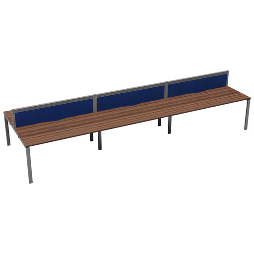 LOCO 6 person bench desk 4200mm x 1600mm