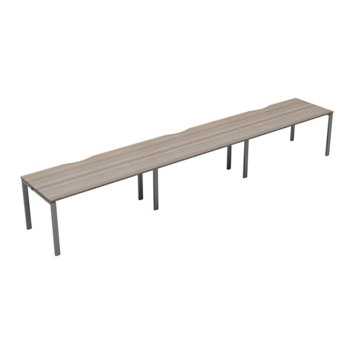 LOCO 3 person single bench desk 4200mm x 800mm