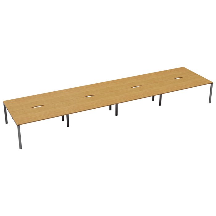 LOCO 8 Person bench desk 5600mm x 1600mm