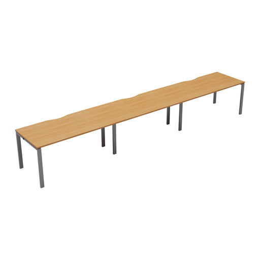 LOCO 3 person single bench desk 4800mm x 800mm