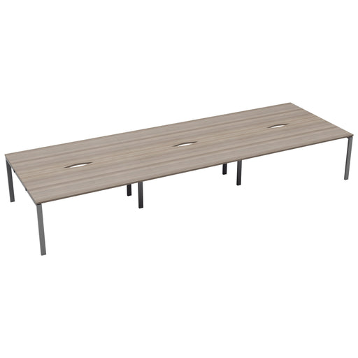 LOCO 6 person bench desk 4800mm x 1600mm