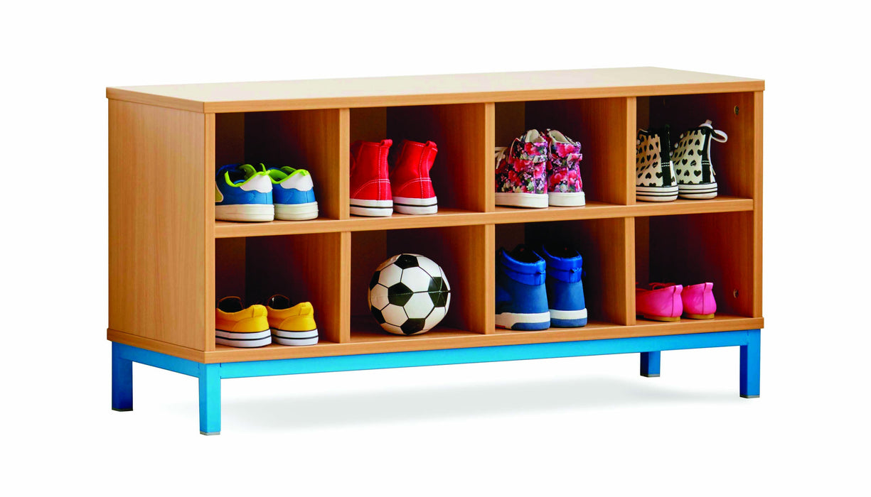 8 Open Compartment Bench