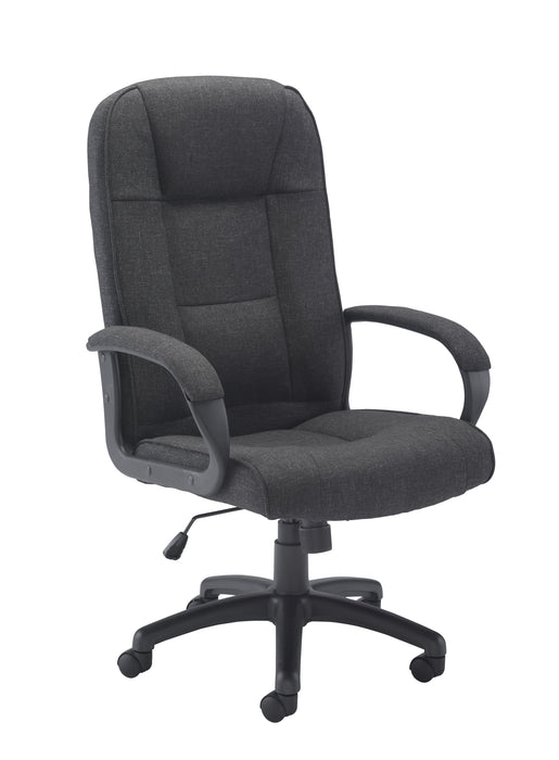 Keno Fabric Executive Chair Grey