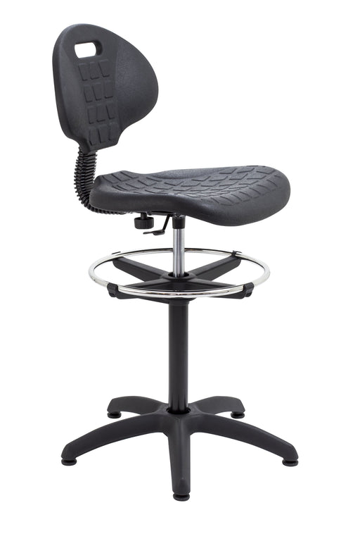 Factory Chair with Adjustable Draughting Kit