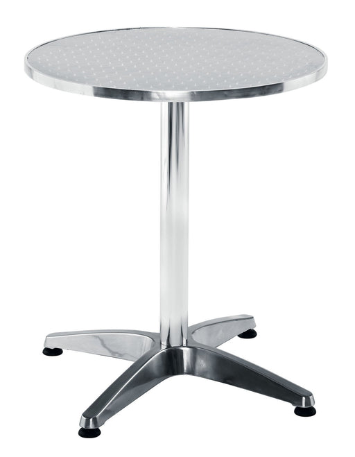 Plaza Aluminium Round Table