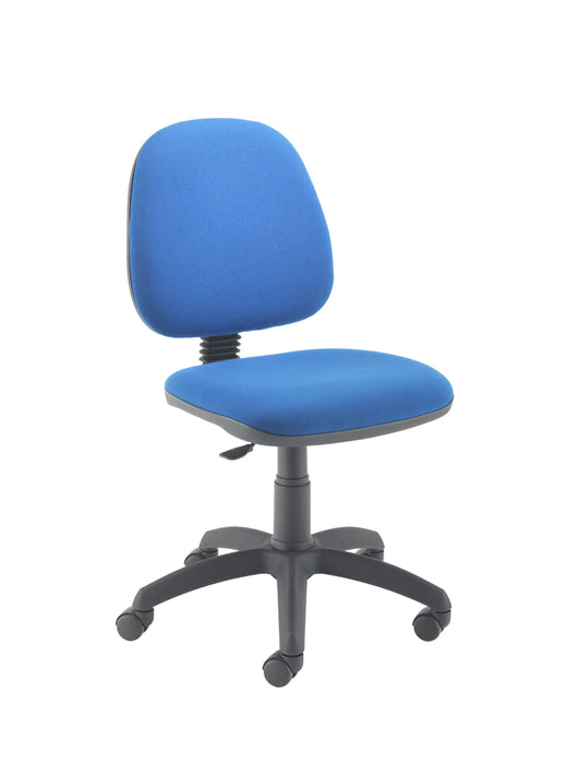 Zoom High Back Desk Chair - Blue mid Back