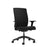 Ash High Back Office Chair Black With Arms