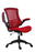 Marlos Mesh Back Office Chair Red