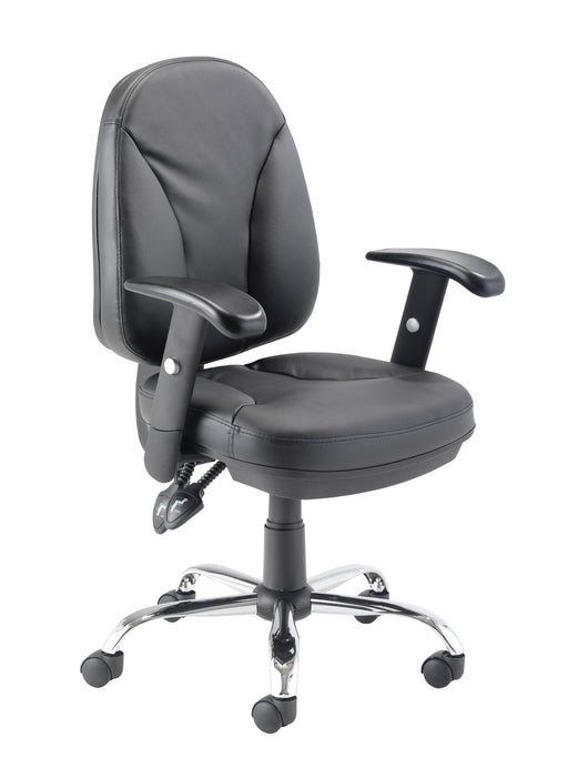 Puma Leather Desk Chair