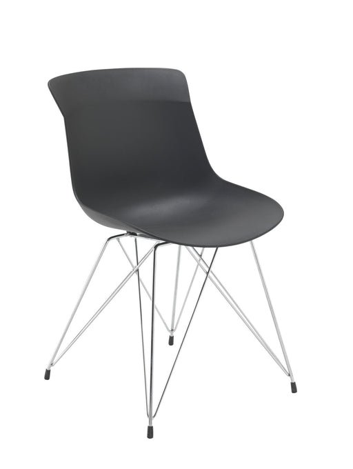 Charlie Wire Base Chair Black