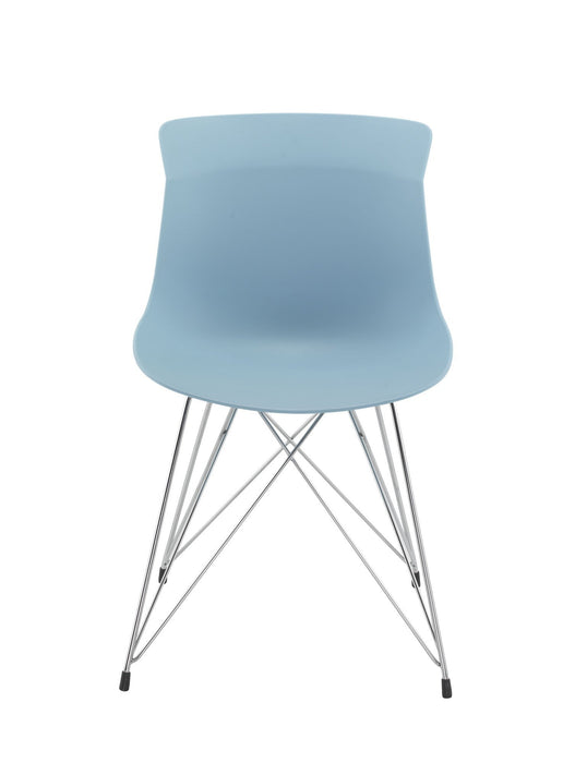 Charlie Wire Base Chair Blue