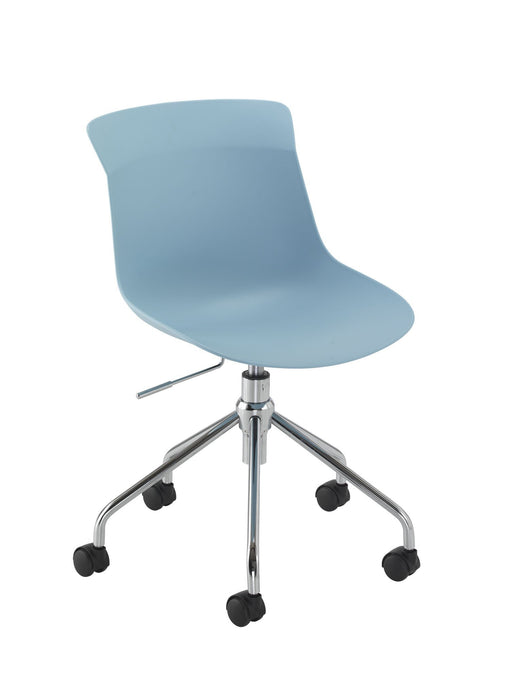 Charlie Spider Base Desk Chair Blue