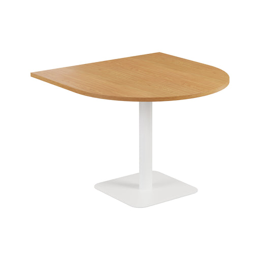 Pedestal Base Semi Circular Table