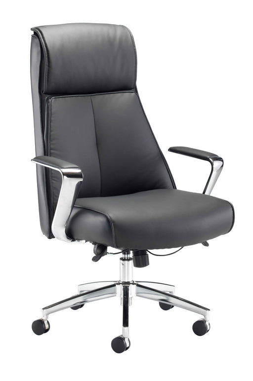 York Leather Executive Chair Black