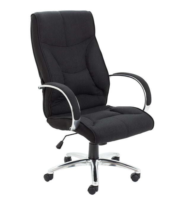 Whist Fabric Executive Chair Black