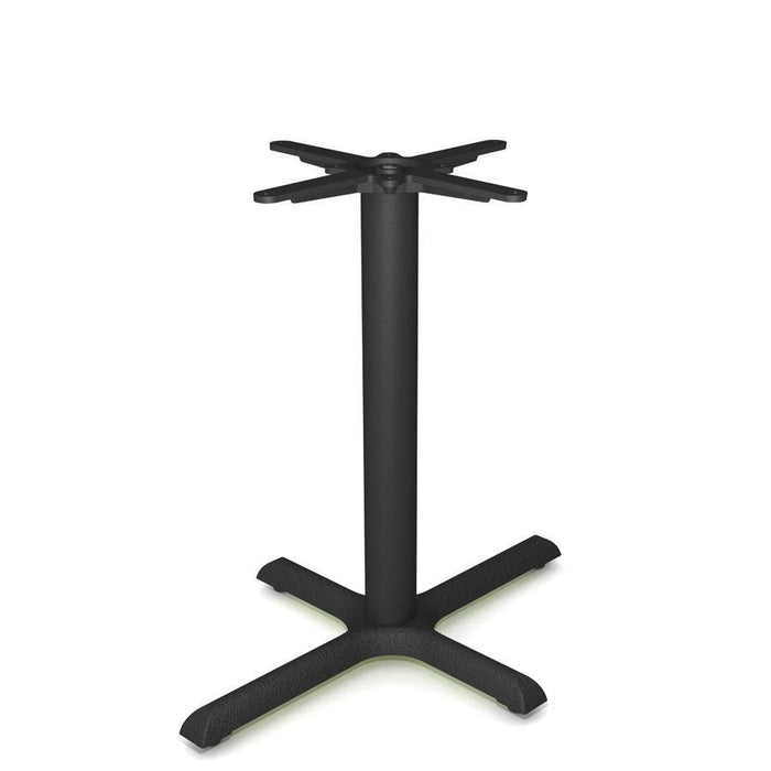 Detroit KX2230 - Cast Iron Self Levelling Rectangular Cruciform Table Base ( Max Top Size: 120cm x 70cm)