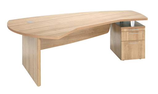 E Space Executive Desk with Integral Pedestal
