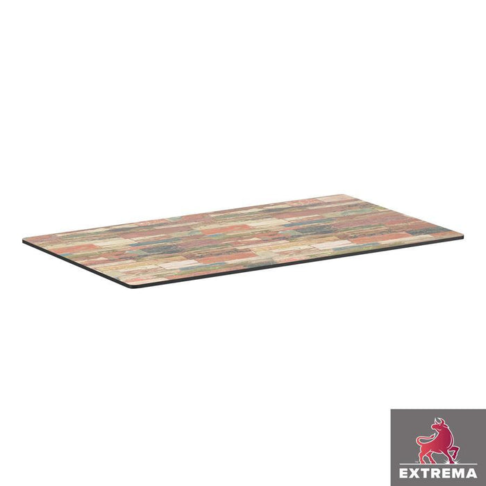 Extrema Table Top - Reclaimed Beach Hut - 119cm x 69cm (Rect)