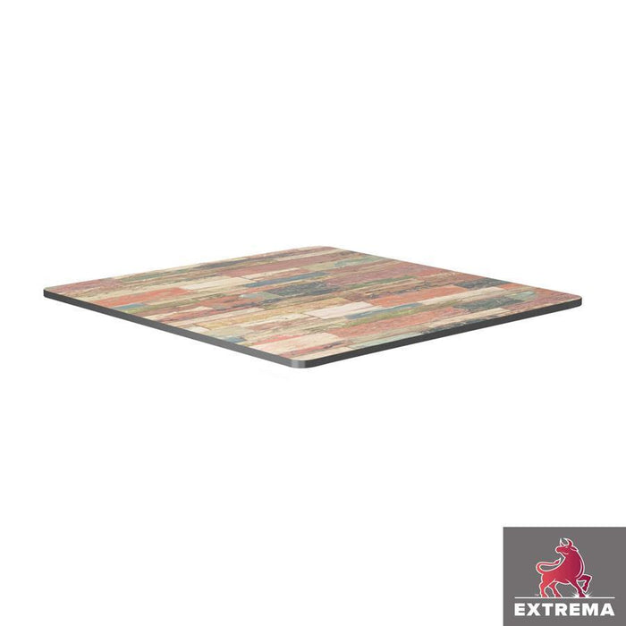 Extrema Table Top - Reclaimed Beach Hut - 79cm x 79cm (Square)