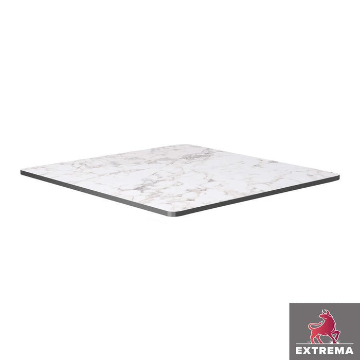 Extrema Table Top - White Carrara Marble - 69cm x 69cm (Square)