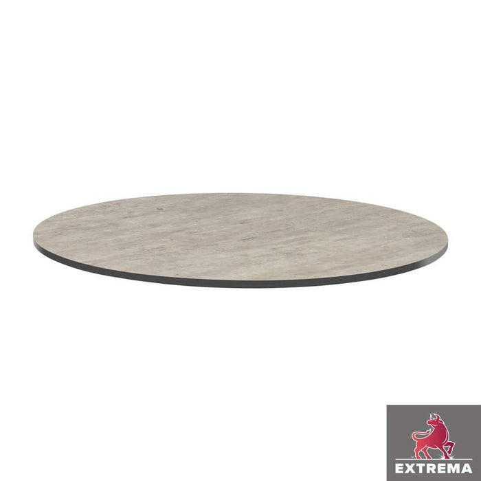Extrema Table Top - Cool Cement Textured - 60cm dia (Round)