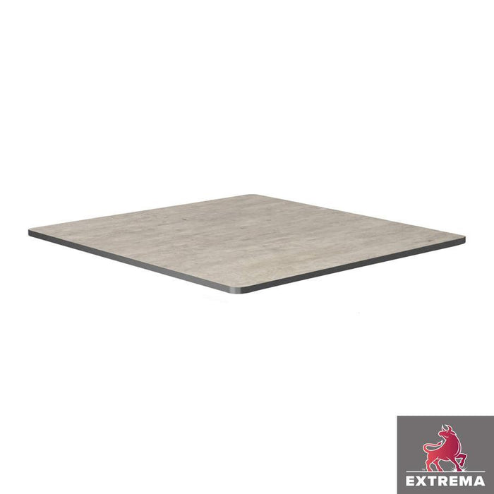 Extrema Table Top - Cool Cement Textured - 79cm x 79cm (Square)