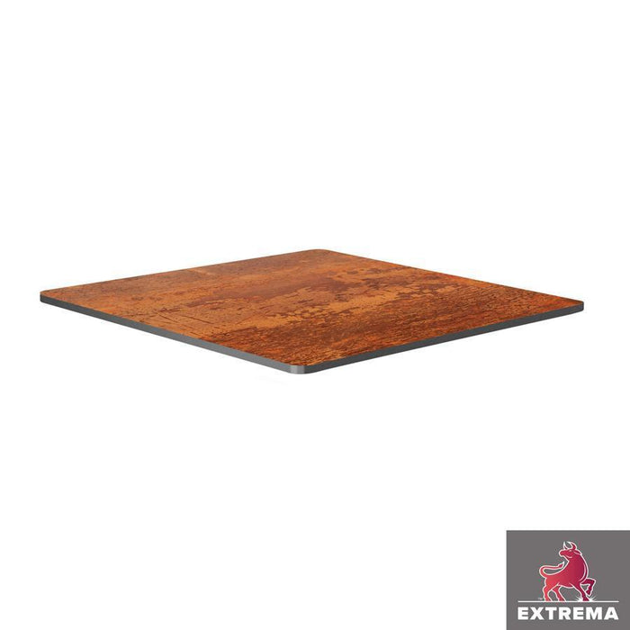 Extrema Table Top - Vintage Copper - 79cm x 79cm (Square)