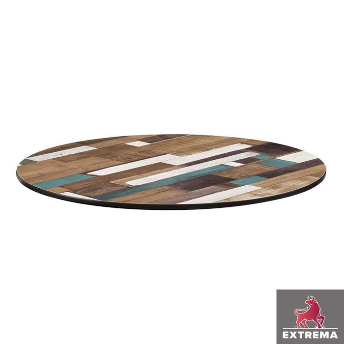 Extrema Table Top - Driftwood - 60cm dia (Round)