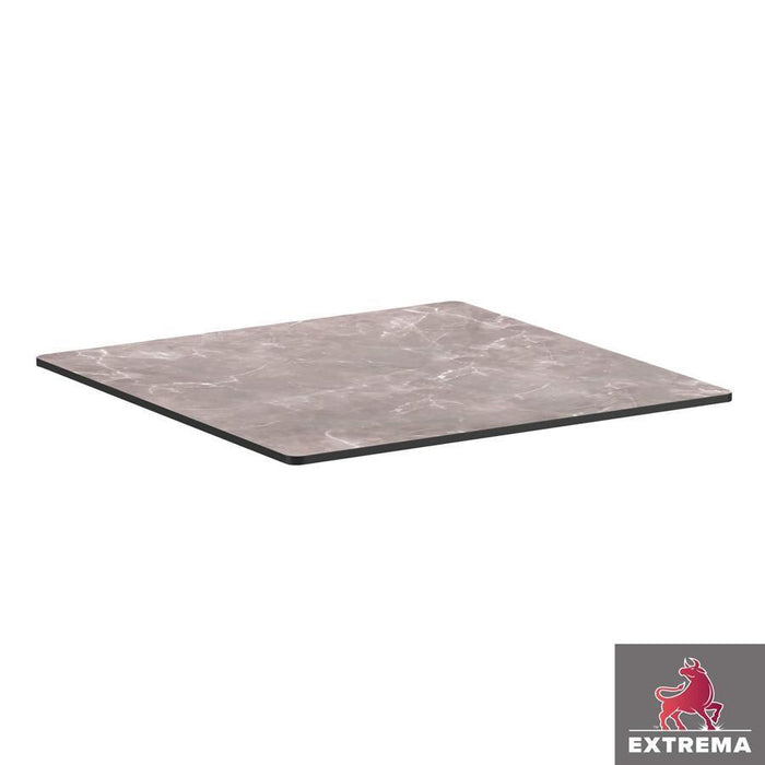 Extrema Table Top - Marble Grey - 60cm x 60cm