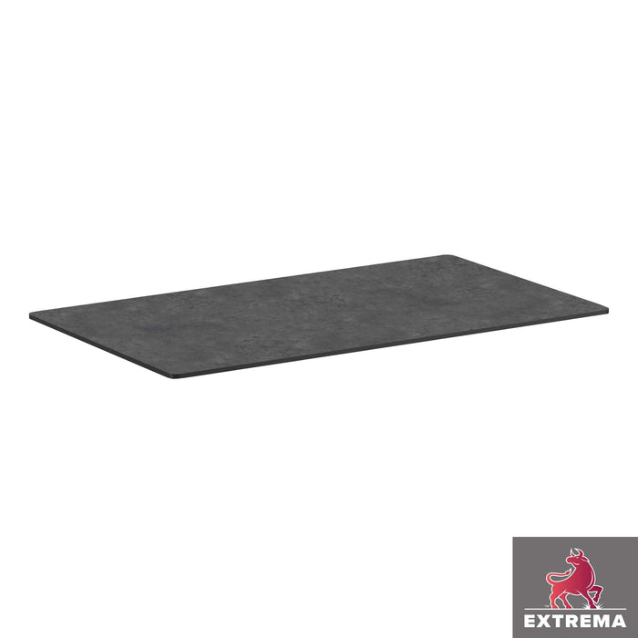 Extrema Table Top - Metallic Anthracite - 119cm x 69cm (Rect)