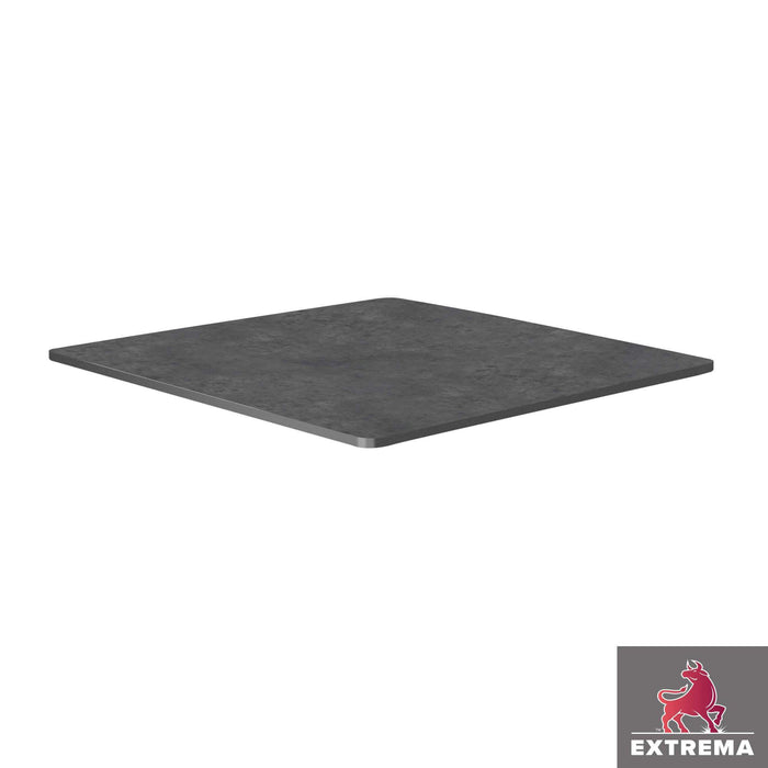 Extrema Table Top - Metallic Anthracite - 60cm x 60cm (Square)