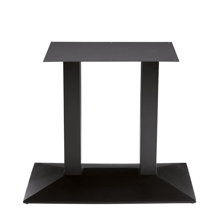 Houston - Cast Iron Large Rect Double Dining Table Base (Max Top Size: 140cm x 90cm)