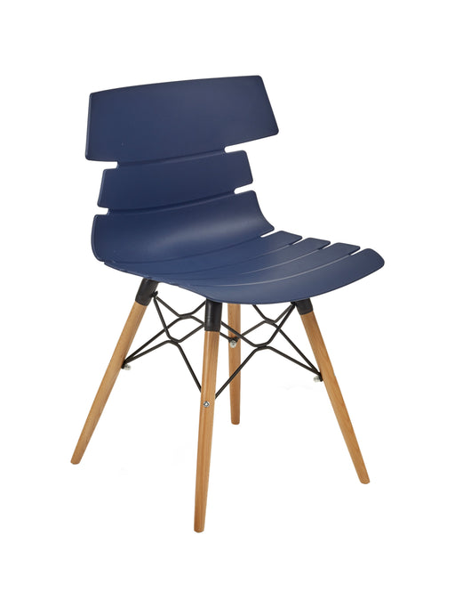 Hoxton Chair with Wooden Base