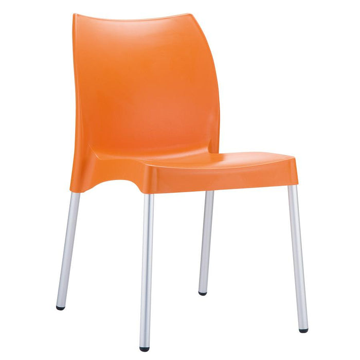 Icon Side Chair - Orange