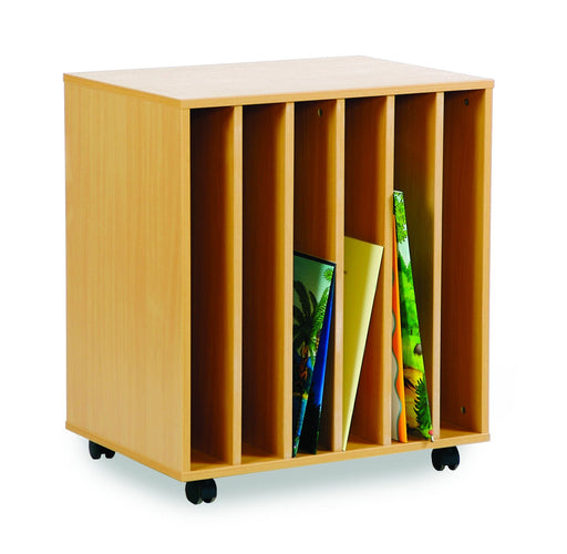 6 slot big book holder unit