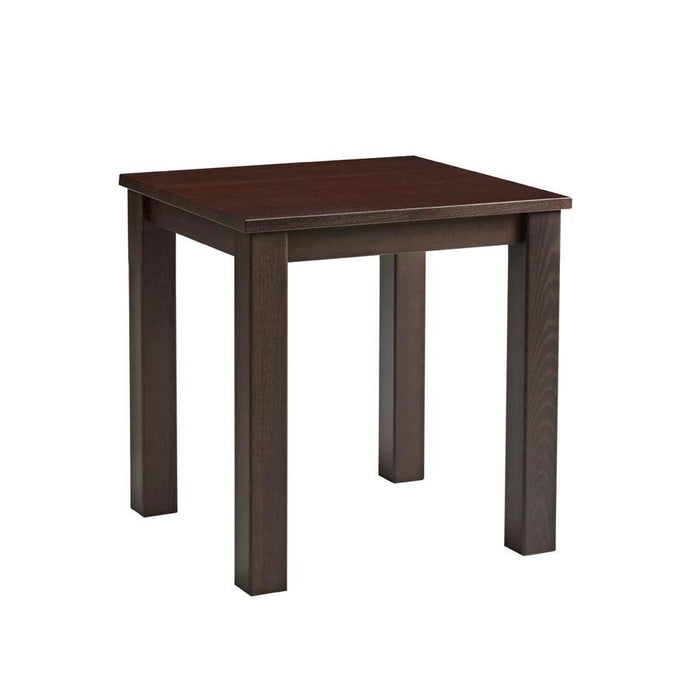 Mist Square Dining Table - Dark Walnut