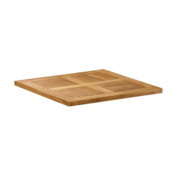 Malay Teak Table Top - 70cm x 70cm (Square)