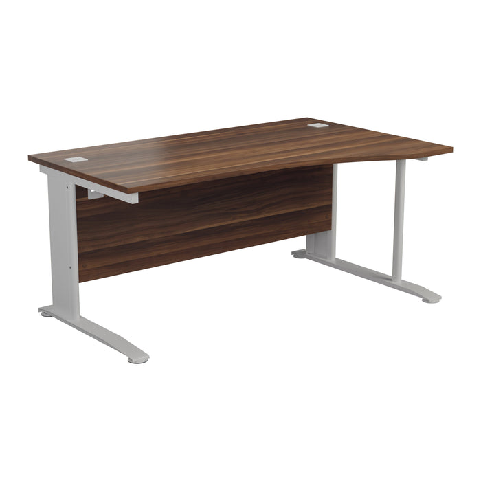One Cable Cantilever Wave Desk - 1600mm
