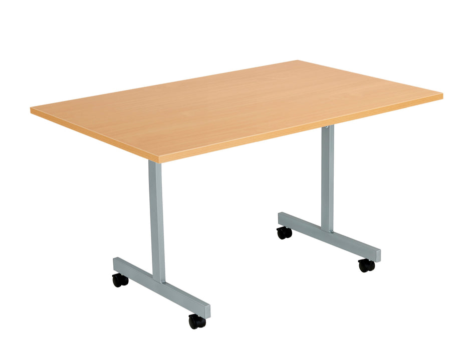One Eighty Tilting Meeting Table 700mm Deep