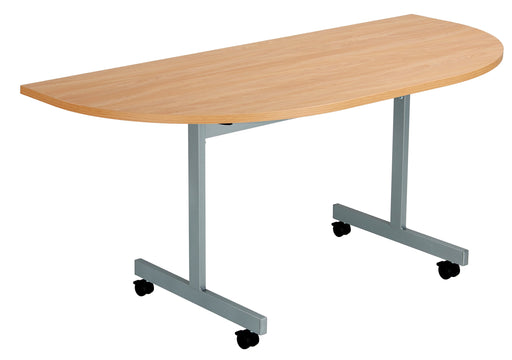 One Eighty Tilting Meeting Table 1600 X 700 D-End Top