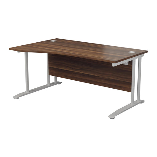 One Cantilever Plus Wave Desk- 1600mm