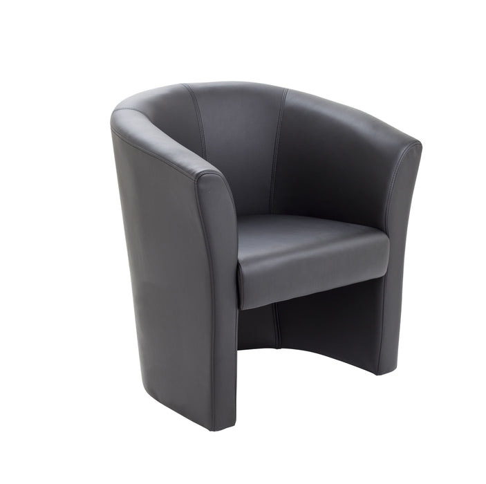 Tub Armchair Faux Leather
